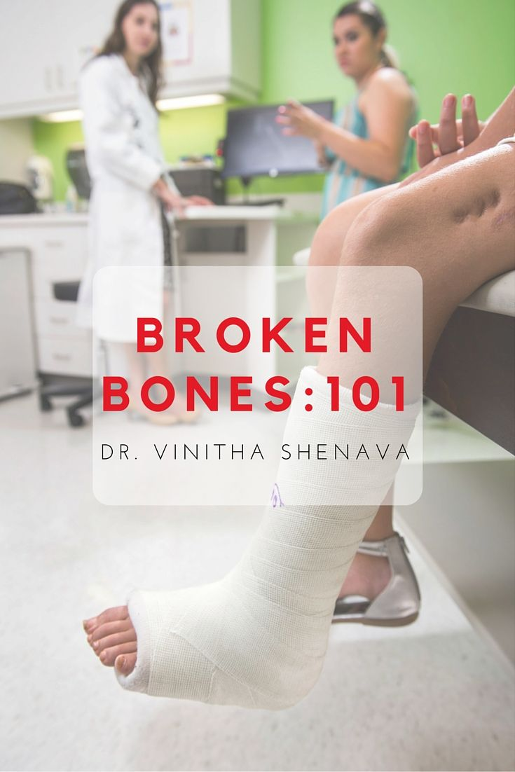 A broken bone typically results in pain, swelling, tenderness, bruising and occasionally deformity, tears or openings in the skin. Learn more on our blog.