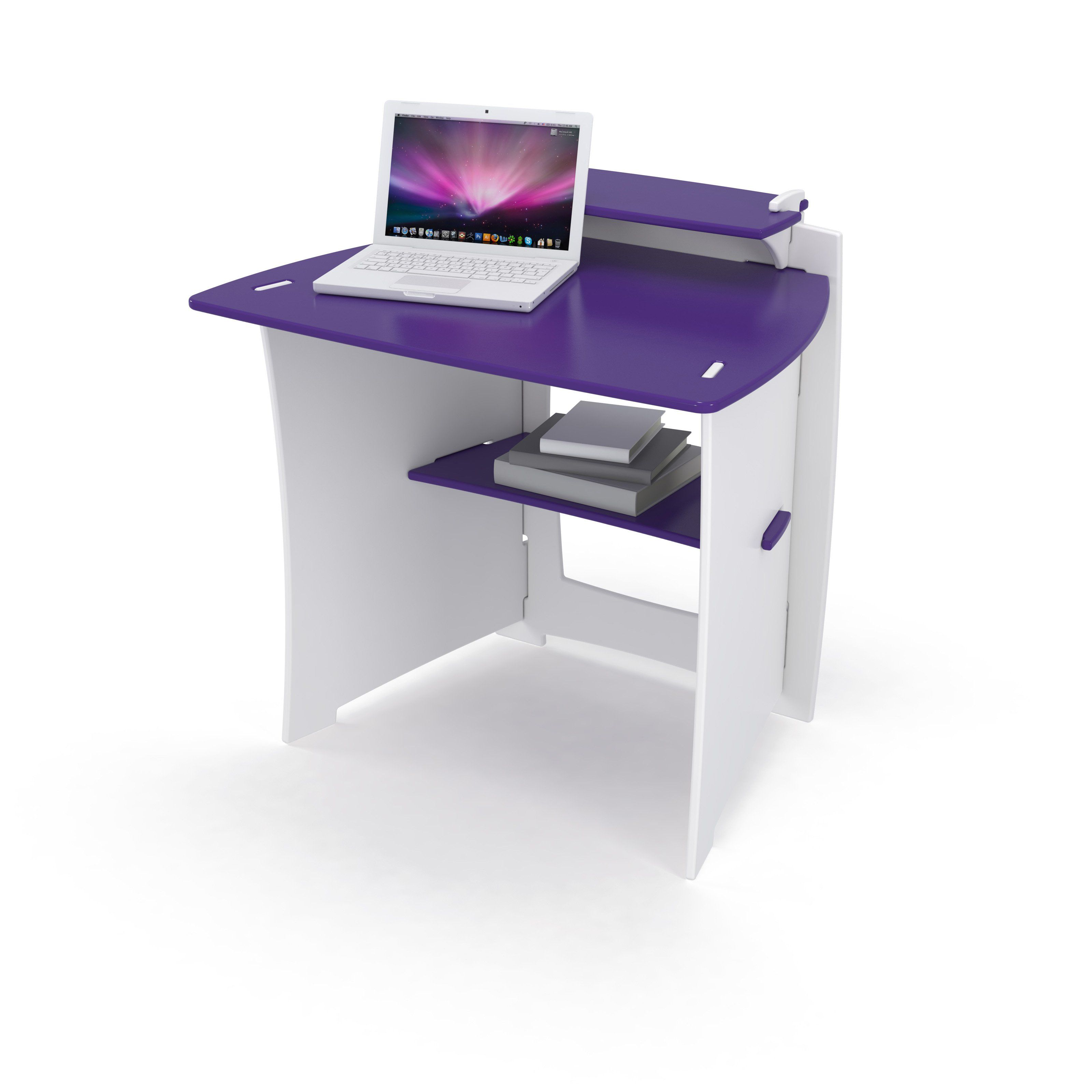 Have to have it. Legare 34 in. Kids Desk with Shelf Purple