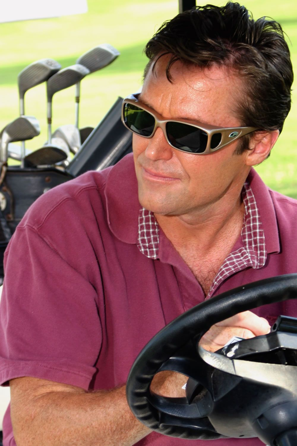 Razor Gun Metal (Polarvue® Gray) fitover sunglasses by Jonathan Paul® are great for ANY activity - they provide unparalleled function AND fashion.