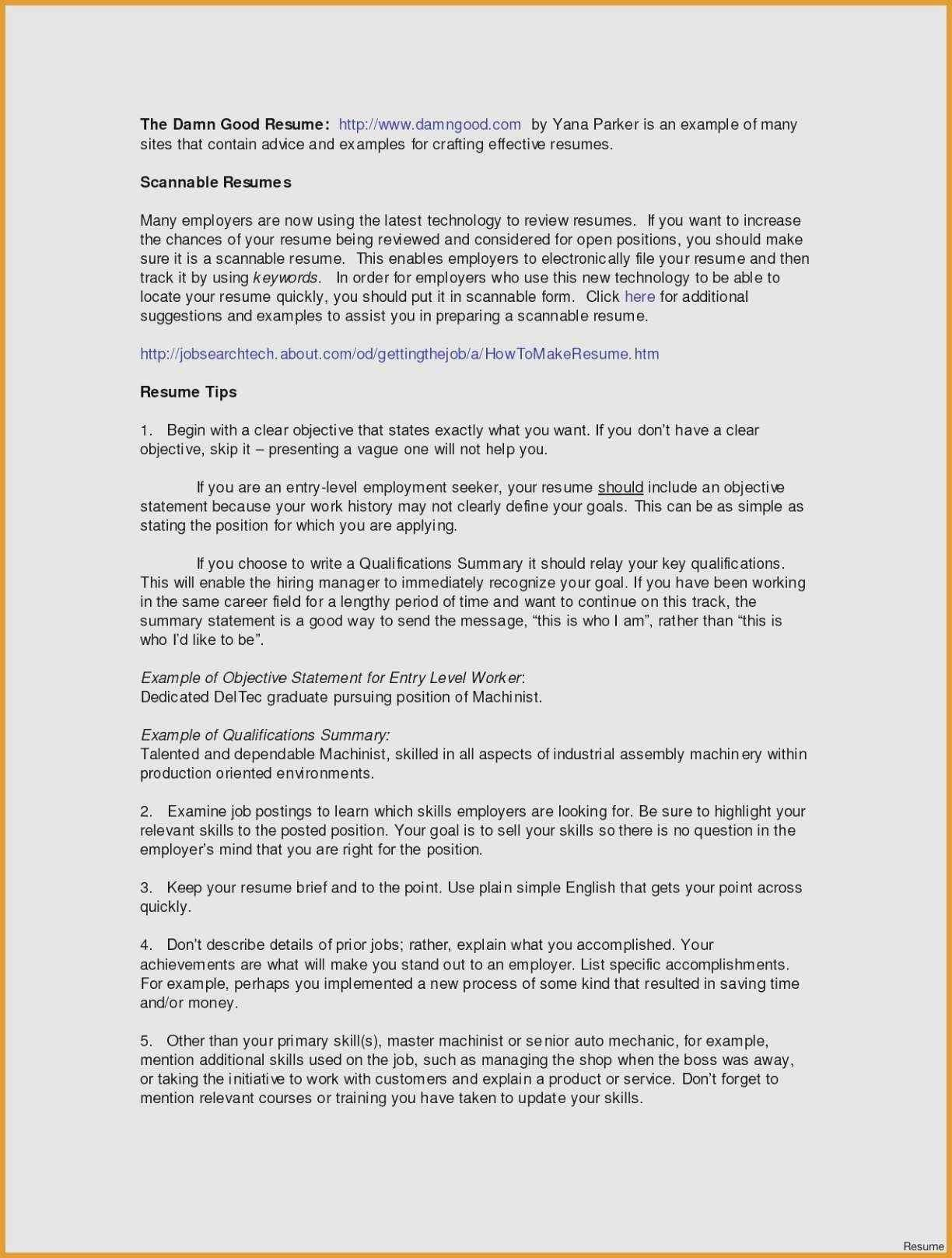 80 Beautiful Collection Of Sample Resume Summary Career Change