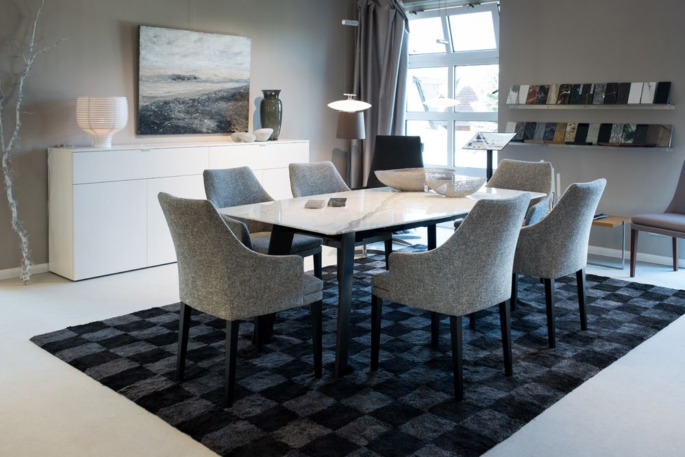 Wohndesign #Ausstellung #Christmann #Internationales_Wohnen - esszimmer im wohnzimmer