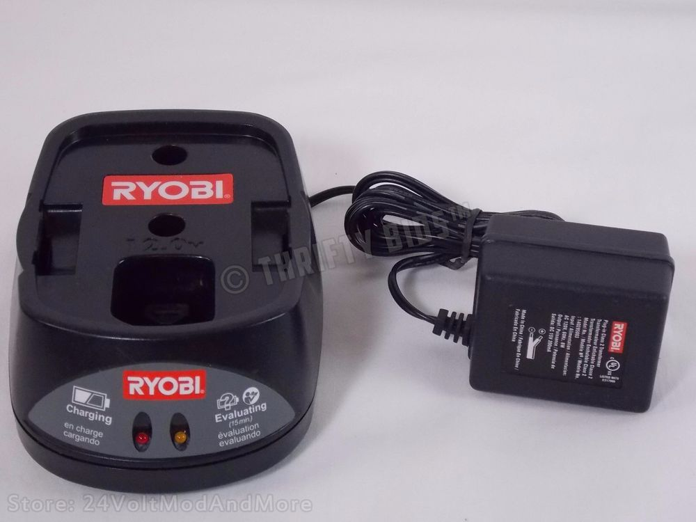 Genuine Ryobi 140295003 12v 12 0v 12 Volt Nicd Battery Charger 130269003 Tested Ryobi Nicd Battery Charger Ryobi Battery