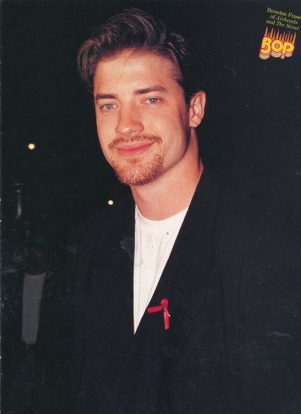 BRENDAN FRASER pinup - Sexy with whiskers | My favorites