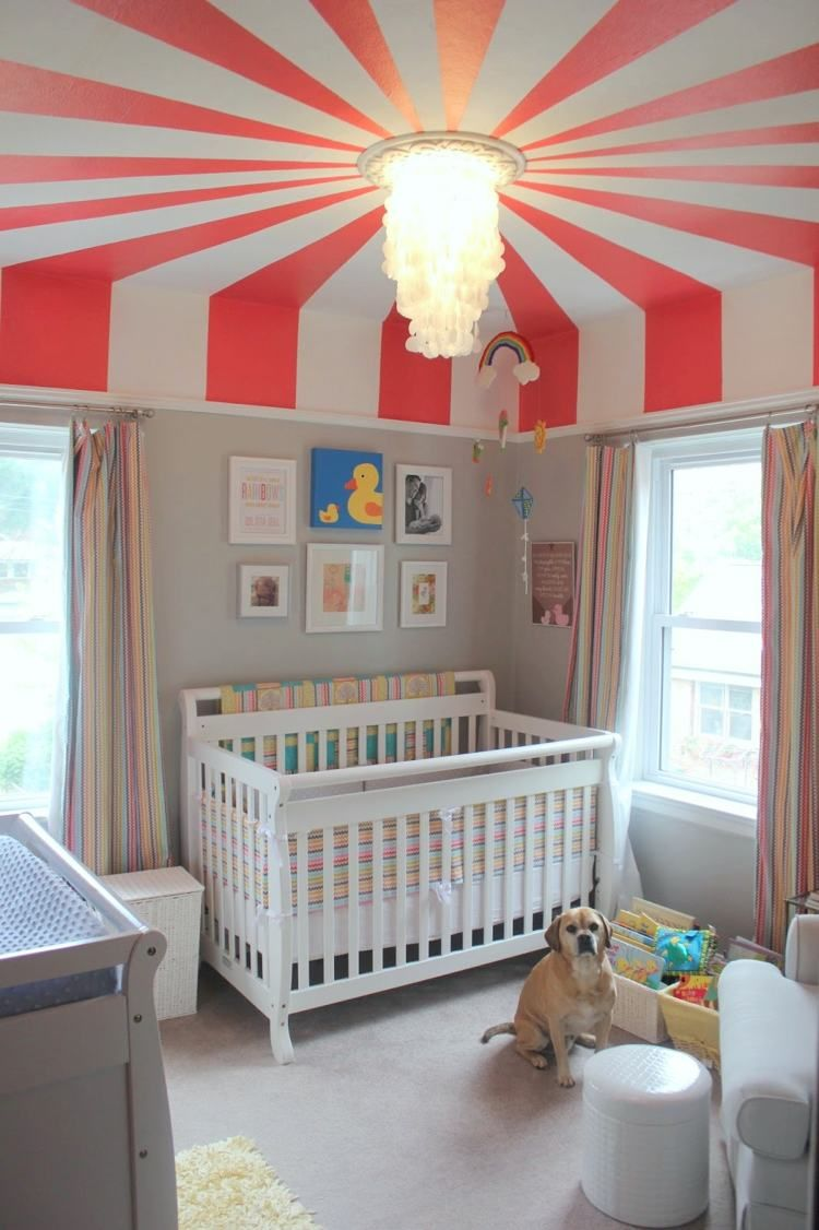Children S Room Facility Decoration Baby Room Topic Circus Covers
