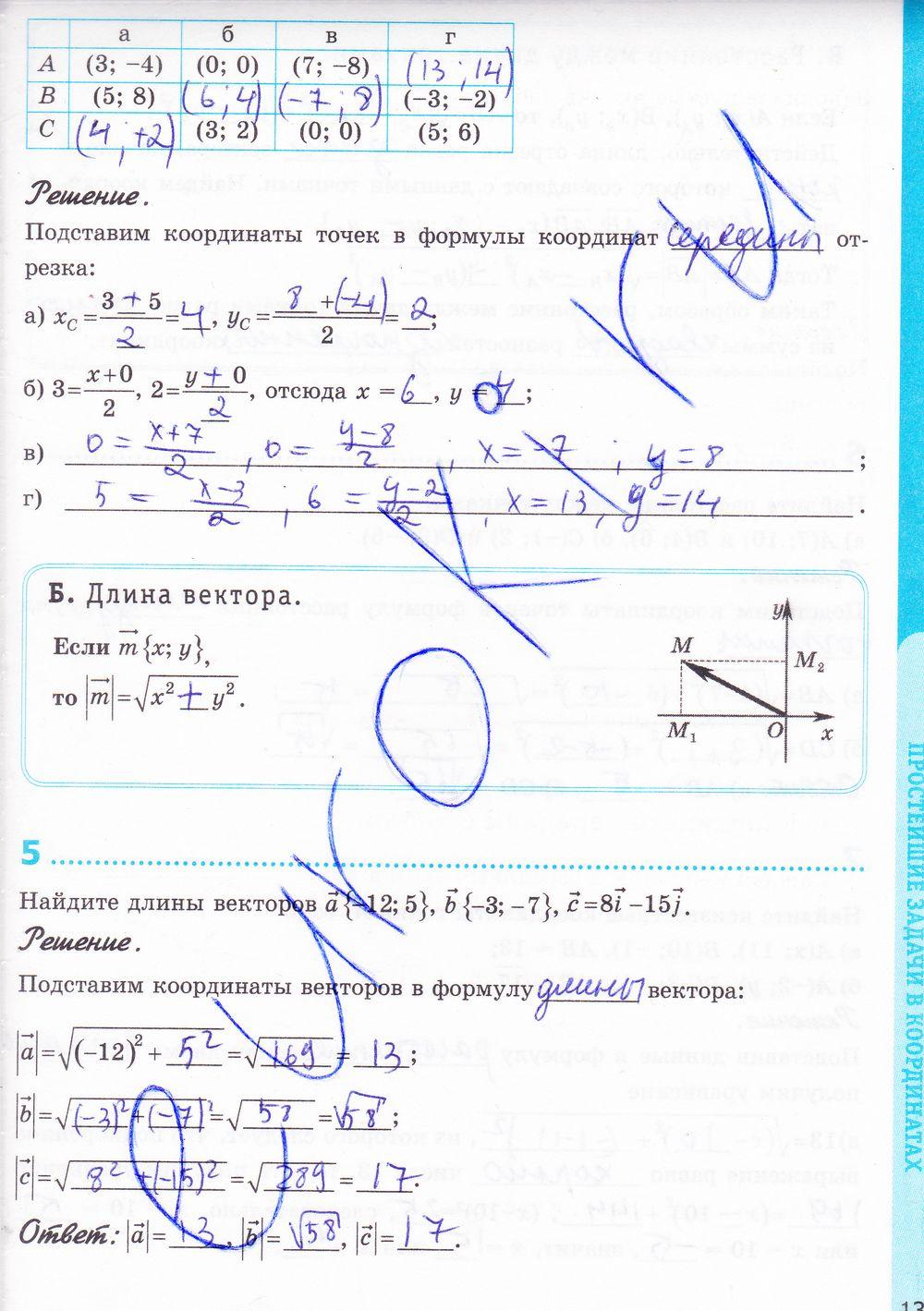 Как оценивается контрольная по математике 3 класс