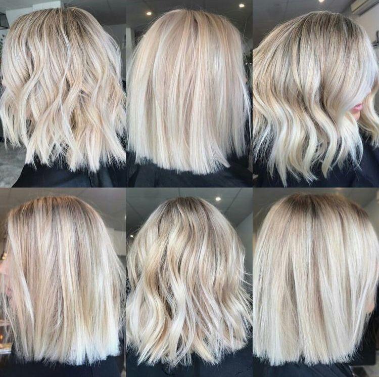 Short Blonde Balayage Hair Styles Long Hair Styles Balayage Hair