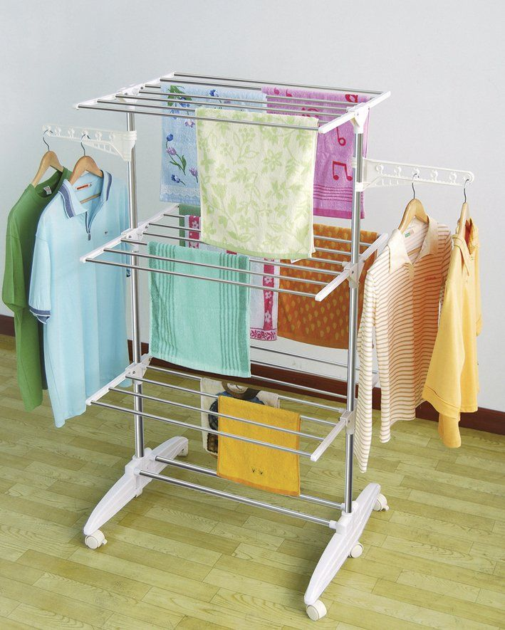 Have you tried lately to spare more space when drying your clothes ...