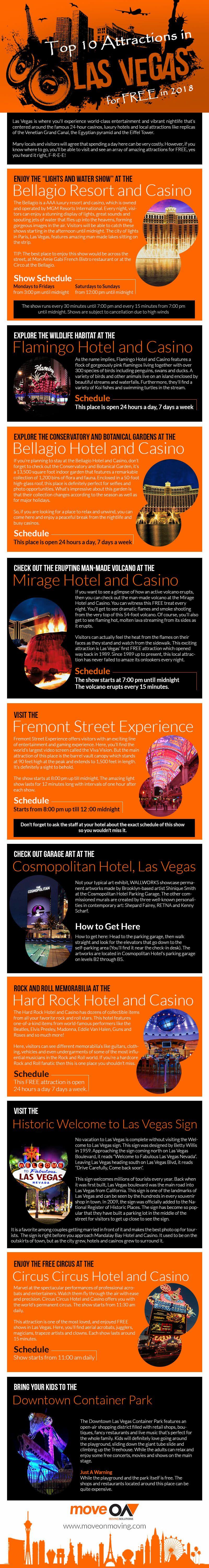 Top 10 Free Things to do in Las Vegas in 2018 (Ultimate