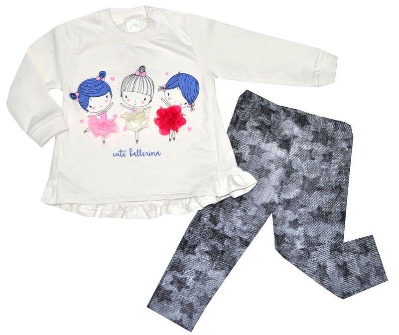 Kleider Fr/ühling Baumwolle Sevtex Baby Kleid M/ädchen Langarm Tunika Druckkleider