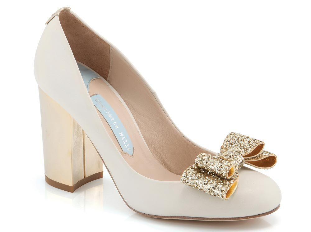 0161f323b96 21 Glamorous Gold Wedding Shoes | Shoes | Wedding shoes heels ...