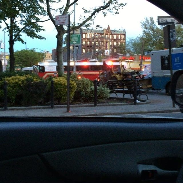 FDNY MRTU RESPONDING MODIFIED INTO A 2ND ALARM FIRE ON UNIVERSITY AVENUE IN THE BRONX IN NEW YORK CITY..... by themajestirium1