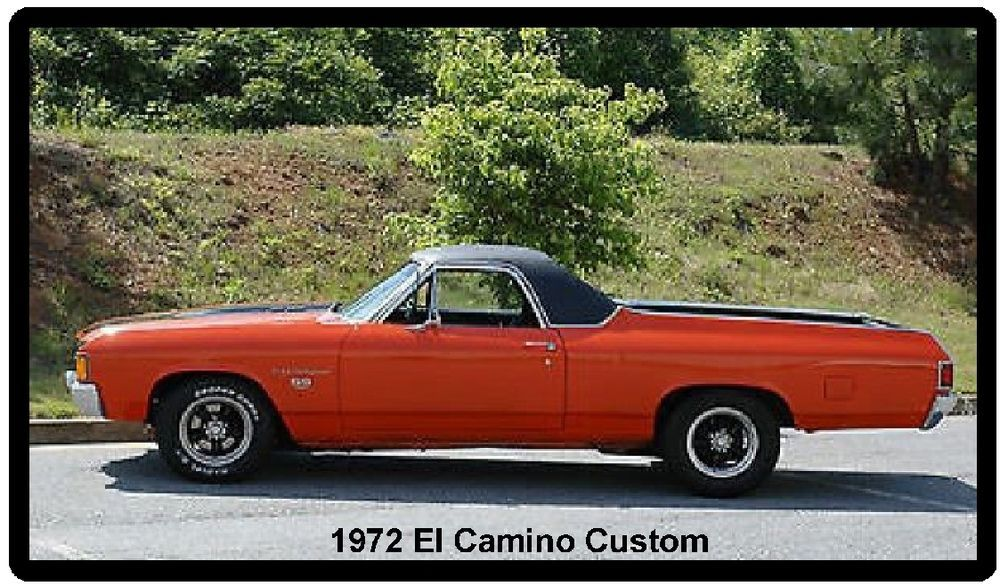 Details About 1972 El Camino Custom Auto Refrigerator Tool Box