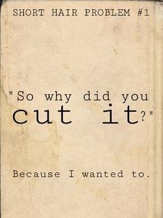 Pin On Short Hairstyle Quotes