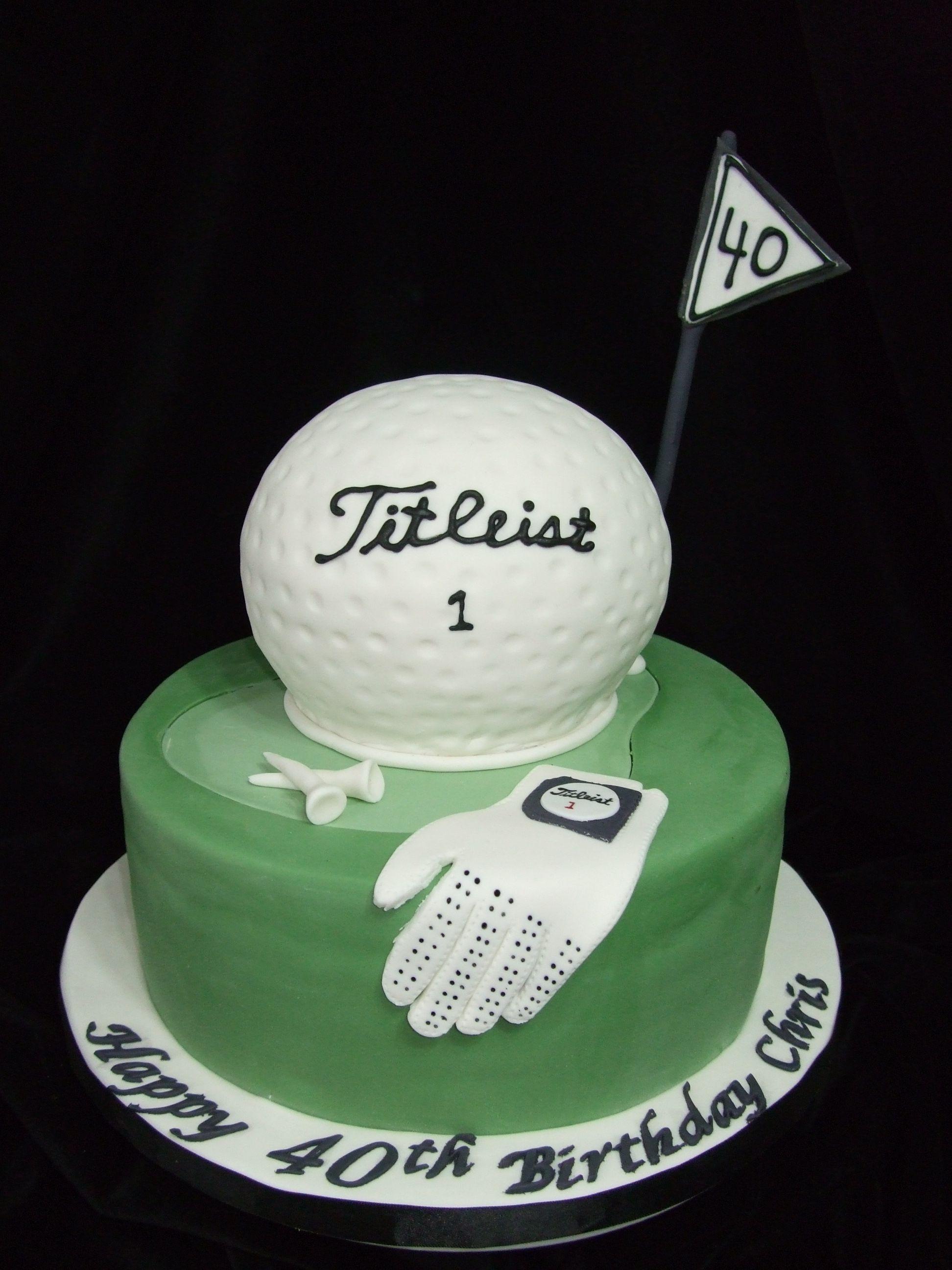 golf theme 10 round with sportsball pan for golf ball gumpaste