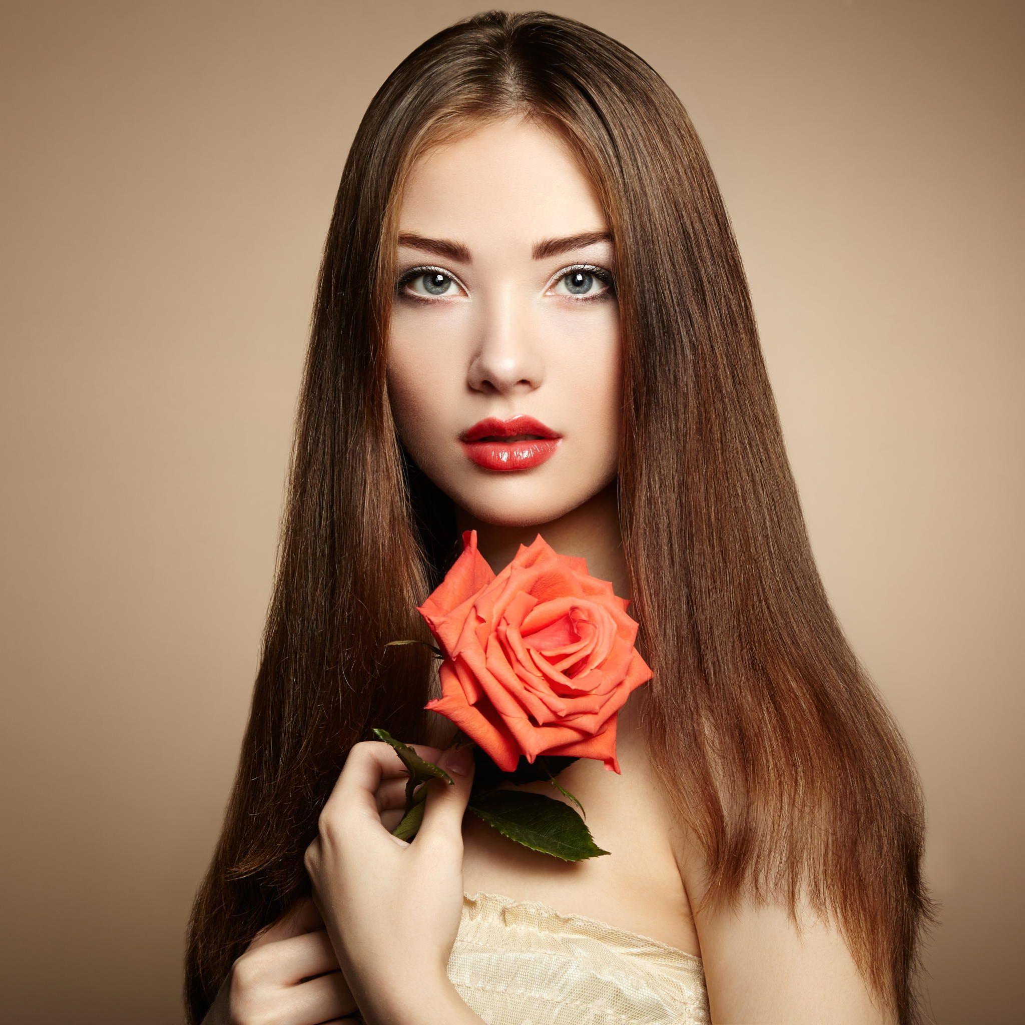 Alexandra portrait of beautiful dark haired woman with flowers alexandra portrait of beautiful dark haired woman with flowers fashion photo izmirmasajfo