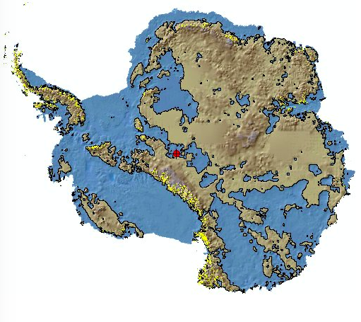 Antarctica Without Ice Map Antarctica Without Ice | Map | Map, Fantasy map, Historical maps