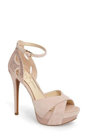 7c11d73e975 Free shipping and returns on Jessica Simpson Wendah Strappy Platform Sandal  (Wom.
