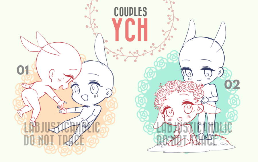 CHIBI YCH AUCTION CLOSED by LabJusticaholic Drawing