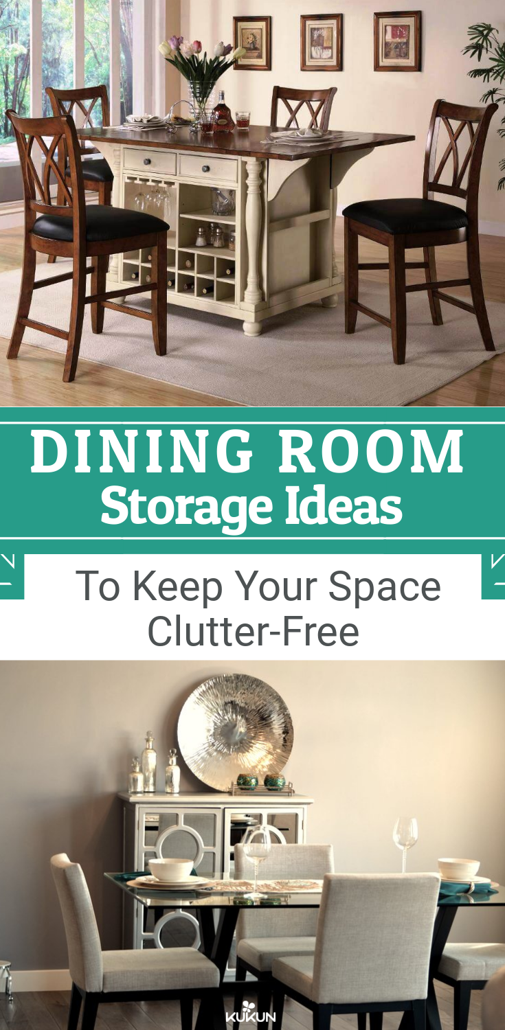 Dining Room Storage Ideas To Keep Your E Clutter Free Diy Solutions For
