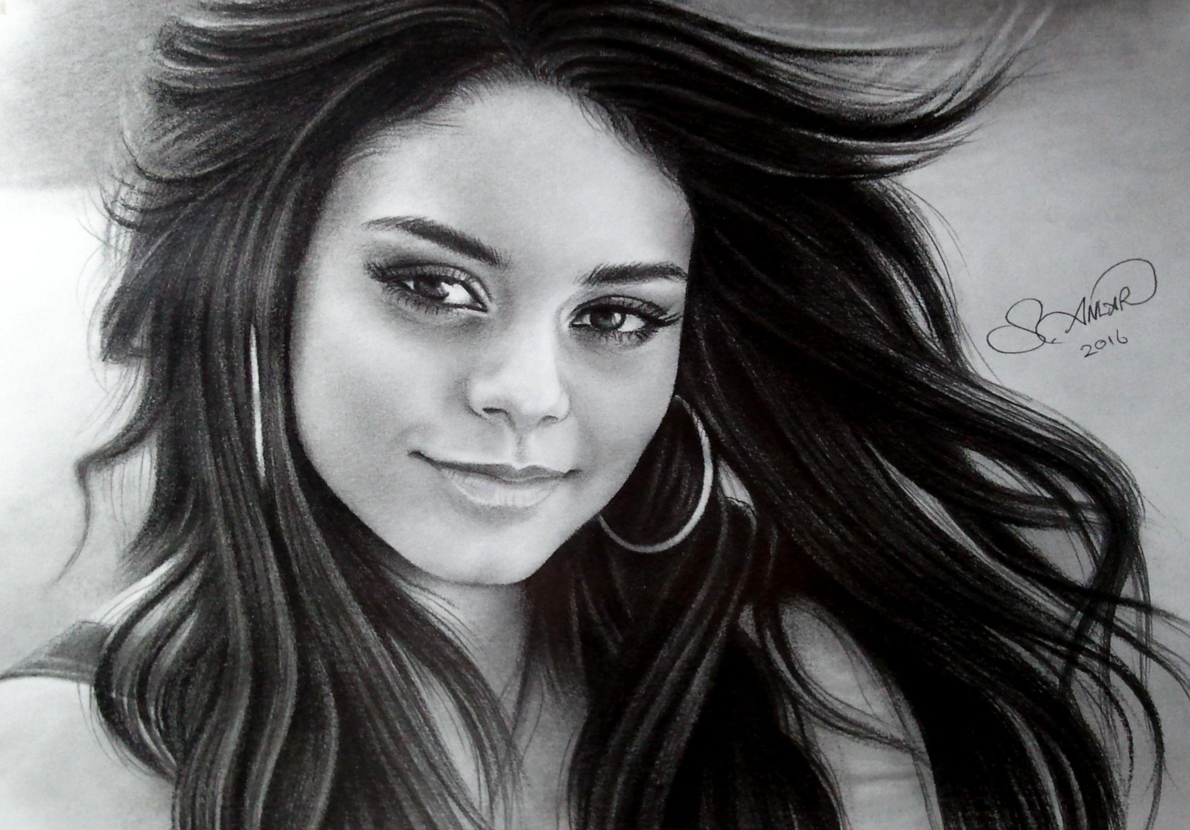 Vanessa Hudgens Drawing Kendte Tegninger