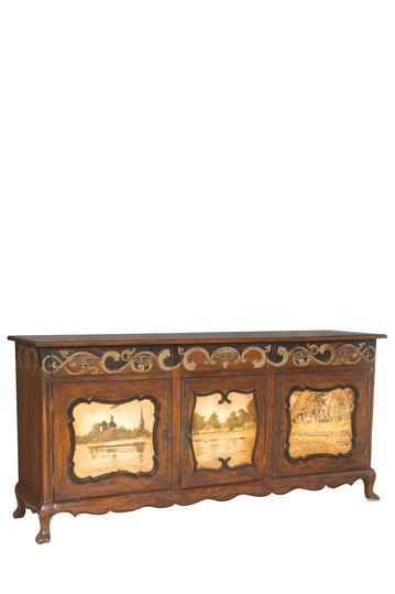 Look At The Finish On This Chippendale Buffet Furniture Finds