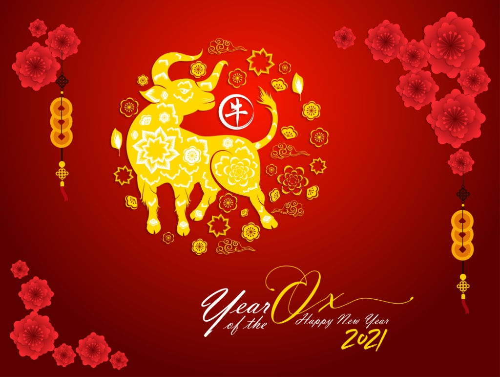 Happy Chinese New Year 2021 Wallpaper In 2020 Chinese New Year Happy Chinese New Year Japanese New Year