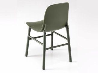 Kristalia sedie ~ Sedia in poliuretano sharky alu kristalia design pinterest
