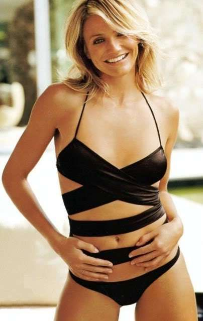 Cameron diaz bathing suit thank for