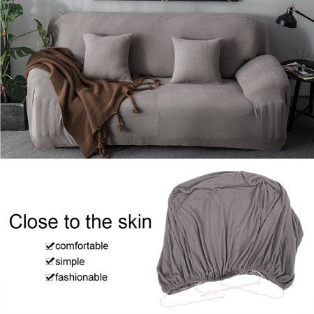 1 2 3 4 Seat Comfortable Sofa Couch Cover Chair Throw Mat