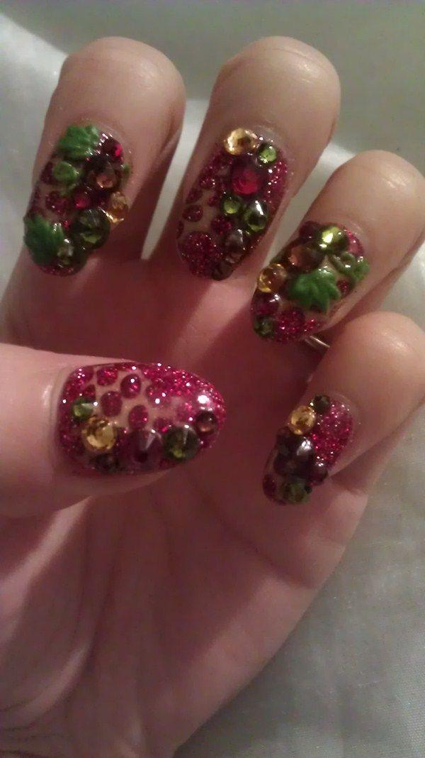 Day 339: Ivy Nail Art   Exotic nails