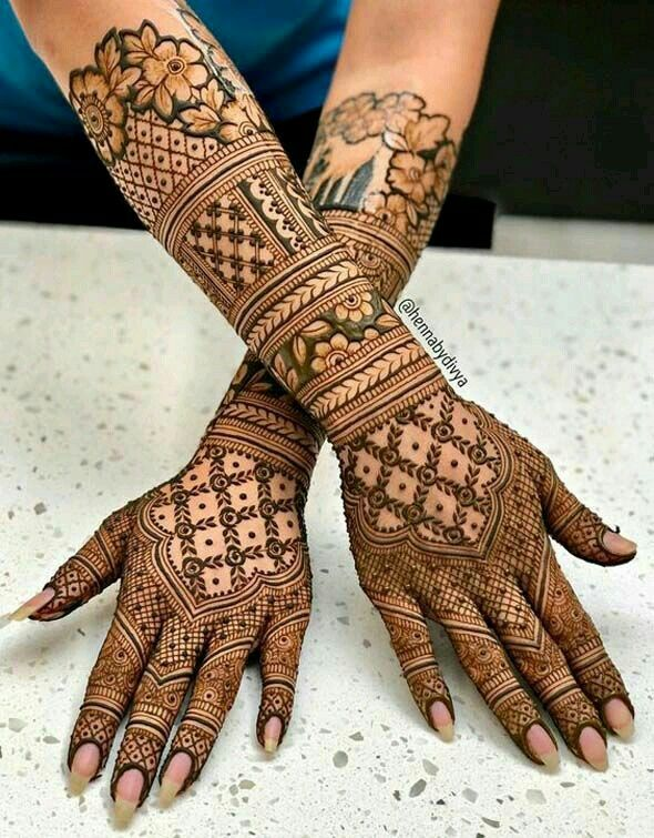 Latest mehndi designs simple arabic bridal henna for also best images in patterns tattoos rh pinterest