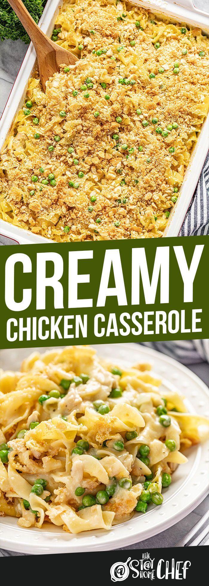 Creamy Chicken Cassserole