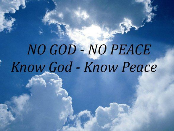 To Know Peace