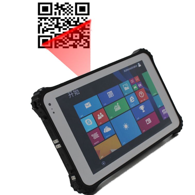 Barcode Windows 8 Inch Rugged Tablet Pc Industrial Panel Pc Rugged Tablet Tablet Computer Accessories