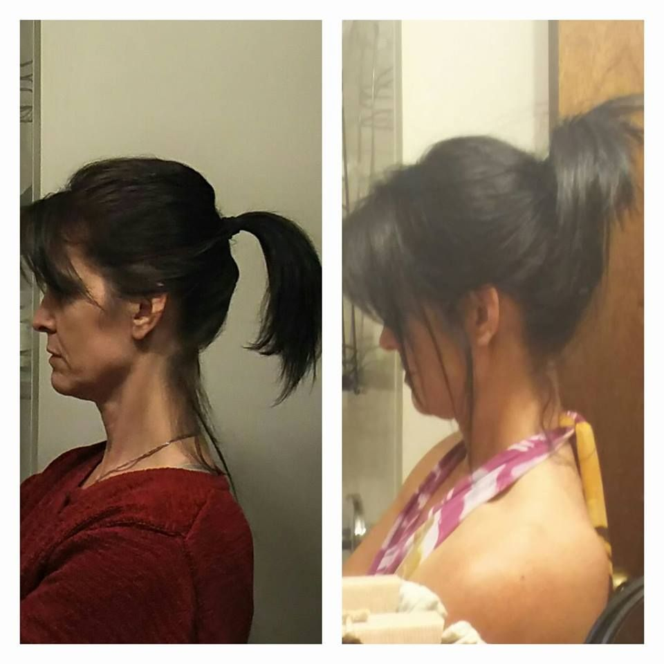 Customer Testimony: 4 months apart!! I was wrapping my ponytail 5x! On Friday ... 2x! My hair is beautiful! Its healthy and shiny and has never felt better.   I started off with the Balance System for 6 weeks, doing a masque and oil treatment weekly. Then I switched to the Intense Repair Shampoo/Black 2-in-1 and Intense Repair Conditioner and added the S3 supplement. I've also been using Rejuvabeads since they came out 😍