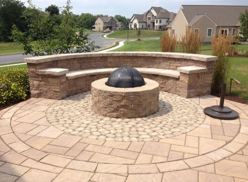 Home Fire Pit Pinterest