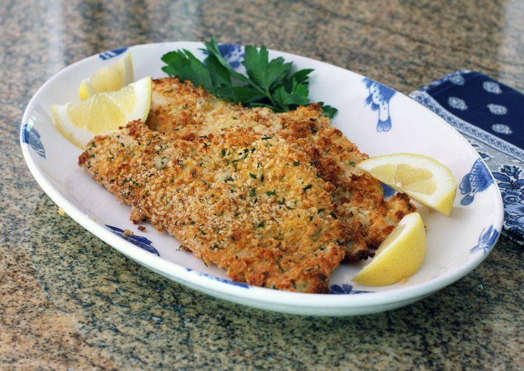 Baked Panko Crusted Fish Fillets Recipe Haddock Recipes