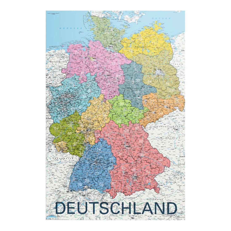 Bild Deutschlandkarte Weltkarte Poster Weltkarte Karten