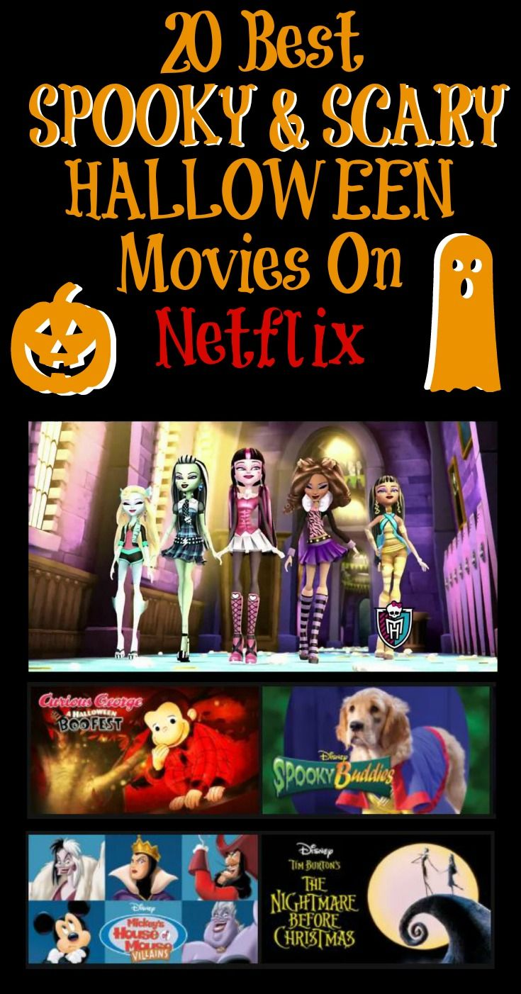 20 scary halloween movies on netflix | best of outsidetheboxmom