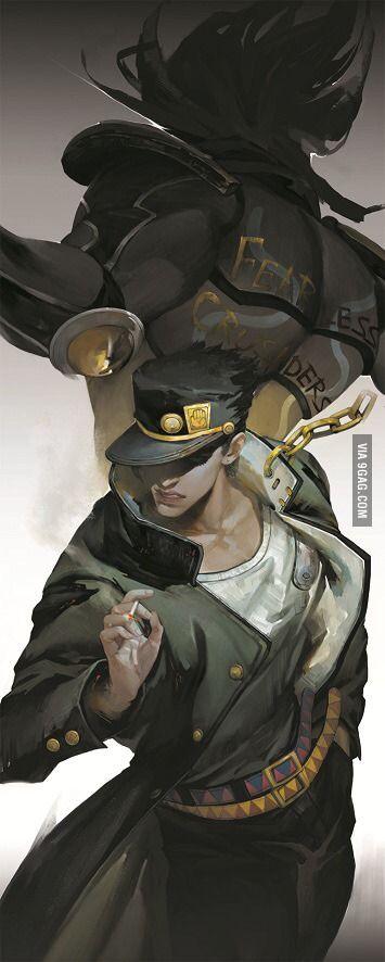 Some amazing anime Fan art (Jojo's Bizarre Adventure)