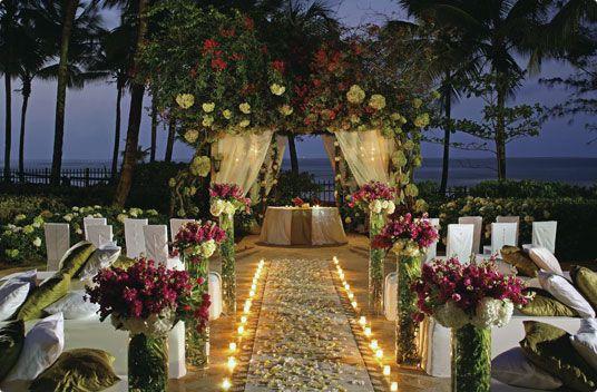 Outdoor Wedding Reception Ideas Hotel Information Map