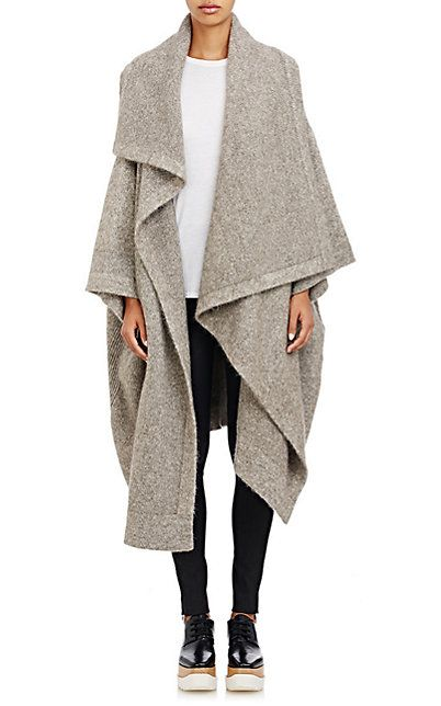 Stella McCartney Knit Blanket Sweater Coat - Cardigan - Barneys ...