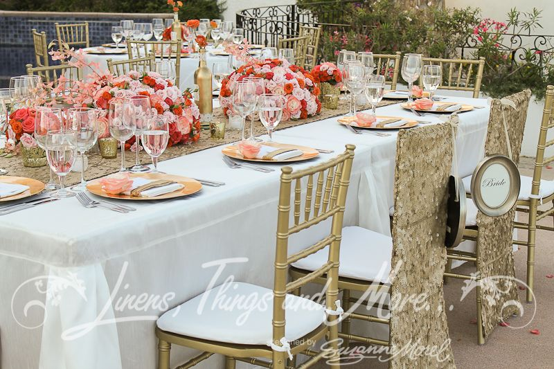 Wedding Reception Decor High End