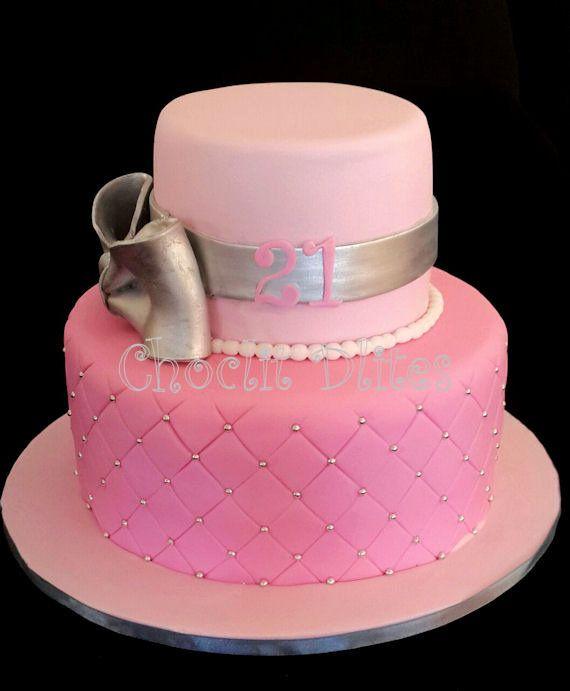 Shelleys 21st Birthday Cake