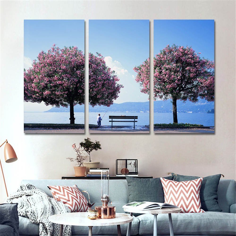 Modern Paintings For Living Room Modern Nordic Decoration Landscape Painting Canvas Pictures For