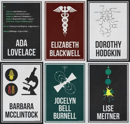 """sagansense: """" hydrogeneportfolio: """" The complete 'Women Who Changed Science - And The World"""" collection in honor of the 95th Women's Equality Day. Purchase Here! """" #WomenInScience """""""