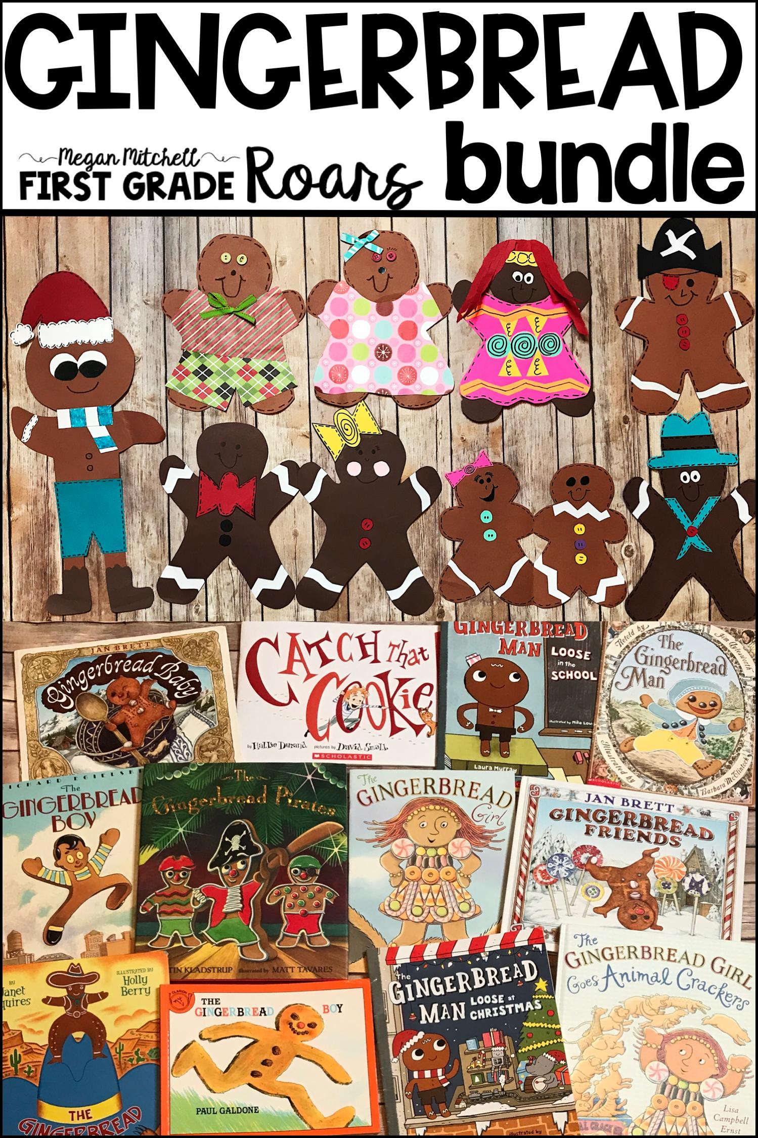 Gingerbread Man Activities Bundle