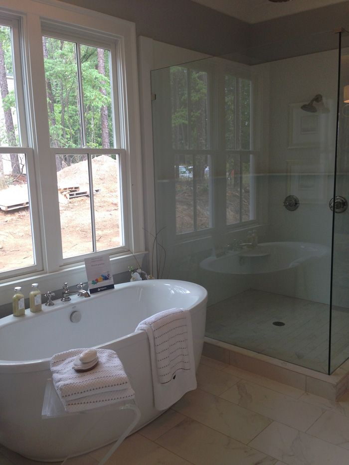 Southern Farmhouse Master Bathroom Parade Of Homes Southern Living