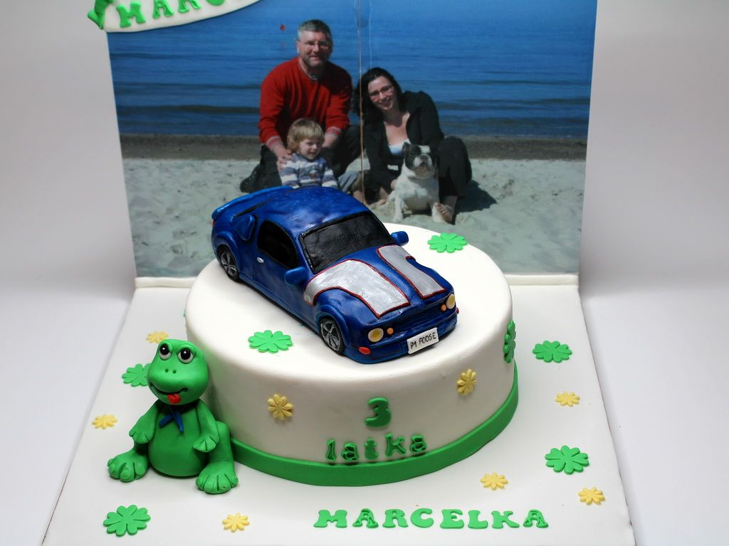 Birthday cake with ford mustang london cakeland