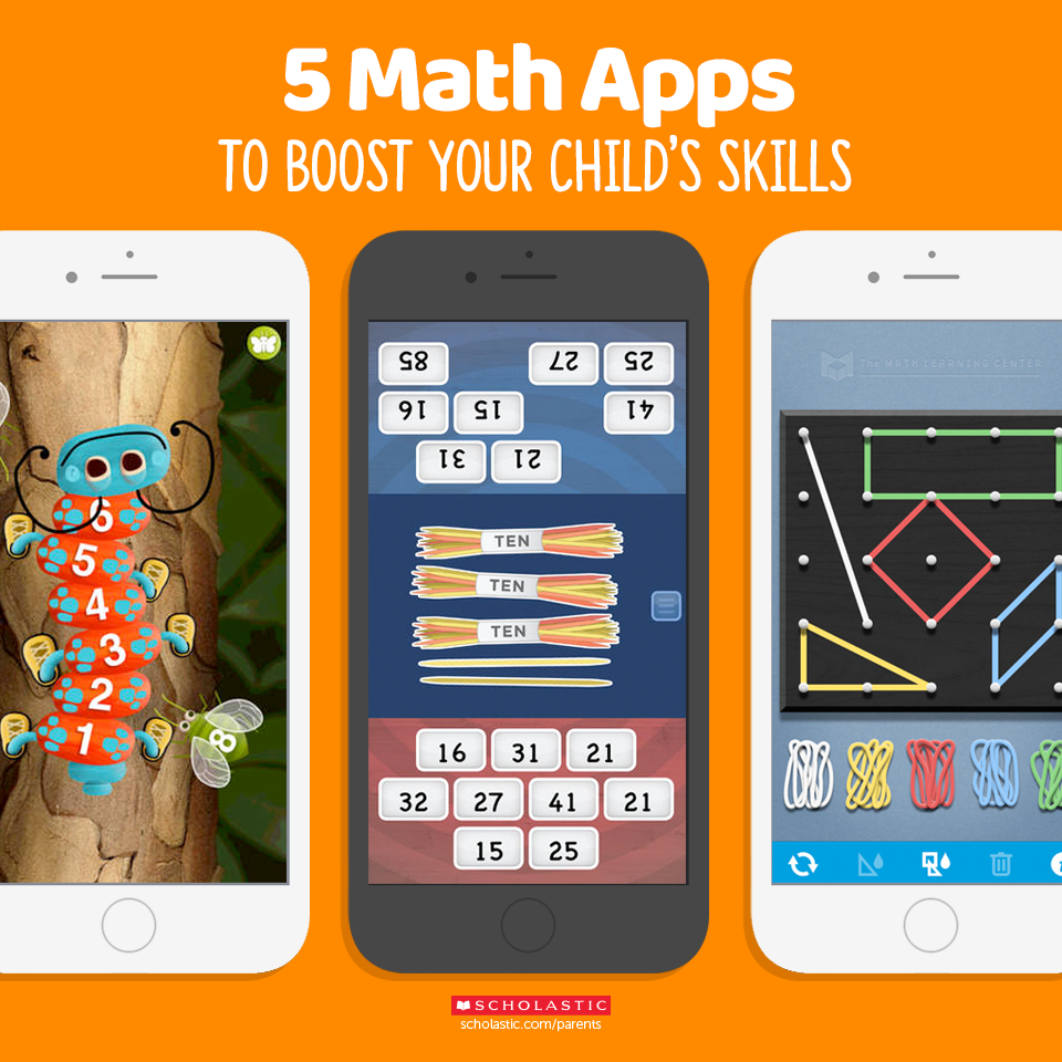 Turn screen time into learning time. These math apps help